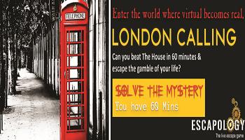 Escapology - The Live Escape Games (London Calling)