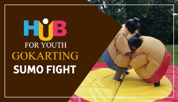 Sumo Fight at Hub For Youth