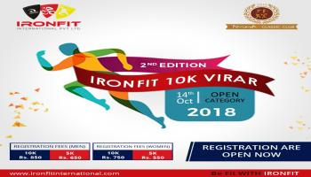 Ironfit 10K Virar - 2nd Edition
