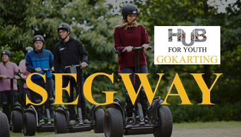 Segway at Hub For Youth