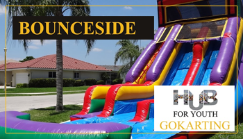 Bounce Slide at Hub For Youth