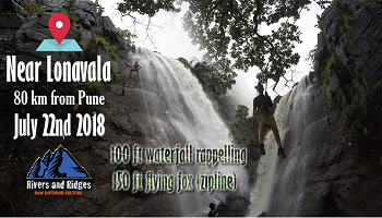 Waterfall Rappelling and Zip-Line at Rajmachi
