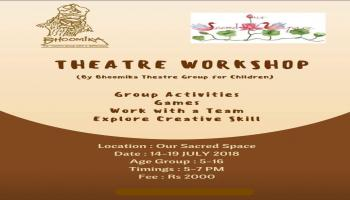 Theatre Workshop for Kids by Bhoomika