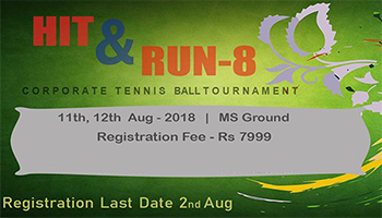 Hit and Run 9 Corporate Cricket Tournament -Bengaluru