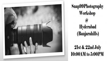 Snap99Photography Workshop- Hyderabad