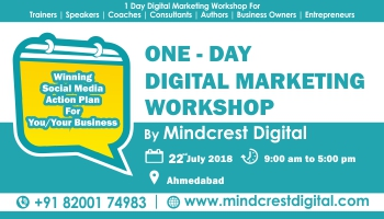 ONE DAY DIGITAL MARKETING WORKSHOP