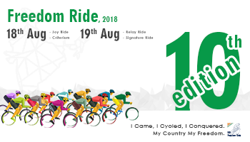 Freedom Ride 10th Edition - Signature/ relay ride