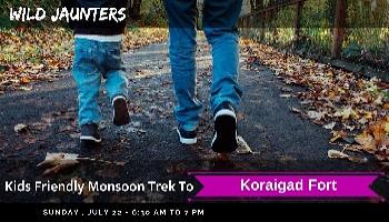 Kids friendly trek to Koraigad Fort