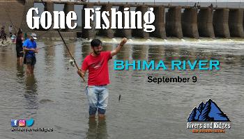 Gone Fishing at Bhima River