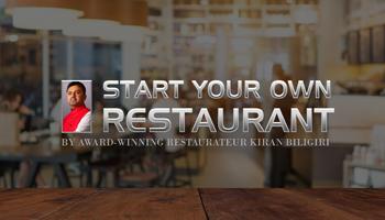 Restaurant Kick-start Seminar by Kiran Biligiri