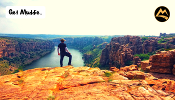 The Gorgeous Gandikota - Camping with Coracle/Kayaking on Pennar River   Muddie Trails