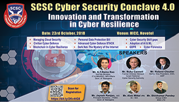 SCSC Cyber Security Conclave 4.0 2018