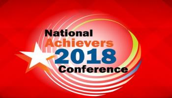 NATIONAL ACHIEVERS CONFERENCE - 22 Sep 2018