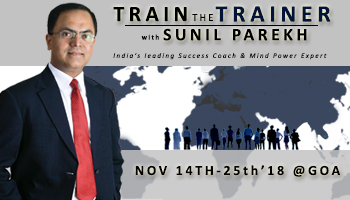 Train The Trainer with Sunil Parekh : Residential Program @ Goa