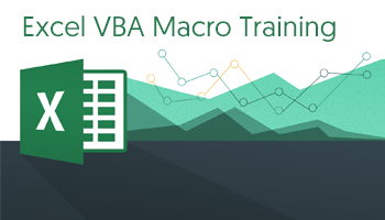 Excel VBA Macro Training for Working Professionals August 25th 26th 2018