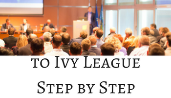 From Indian School to Ivy League - Step by Step