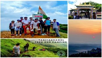 Tadiandamol Trek and Night Camping - Coorg (17-19th Aug)