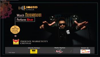 Sound Check by Cue Entertainment presents Badshah Live-In Concert