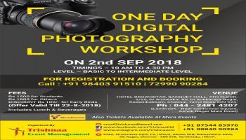 One Day Digital Photography Workshop