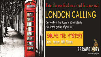 Escapology - The Live Escape Games (London Calling)