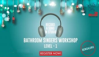 Bathroom Singers Workshop - Level One