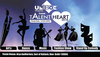 Unibox Shopping Presents Talent Heart
