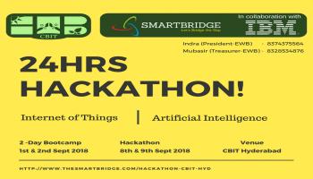 24 Hrs Hackathon on AI/IOT
