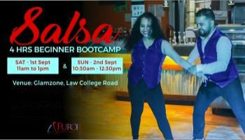 SALSA BEGINNER 4 HOURS BOOTCAMP | 1st and 2nd Sept | Law College Road