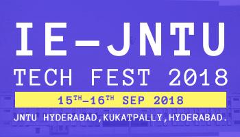 IE-JNTU TECH FEST 2018