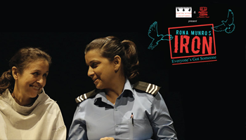 Centre Stage Creations presents Iron