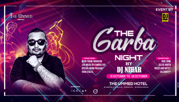 The Garba Nights by DJ NIHAR 2018