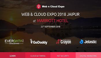 WEB n CLOUD EXPO 2018 JAIPUR