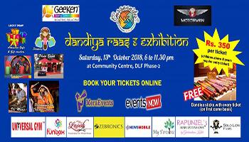 Dandiya Raas and Exhibition Edition 4 by Gurgaonites Events