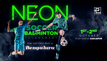 NEON SOCCER AND BADMINTON TOURNAMENT