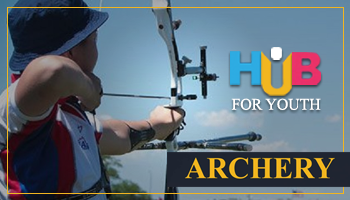 Archery at Hub For Youth