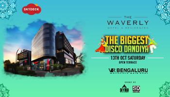 Bangalores biggest and luxurious DISCO Dandiya At skyDeck Waverley VR Mall