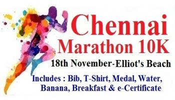 Chennai Marathon 10K - Run for Education