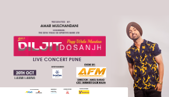 DILJIT DOSANJH LIVE IN CONCERT @ LAXMI LAWNS PUNE