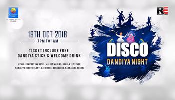 Disco Dandiya Night 2018 Bengaluru