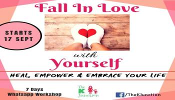 Fall In Love With Yourself-7 Days Online WhatsApp Workshop