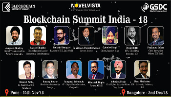 Blockchain Summit India - Bangaluru