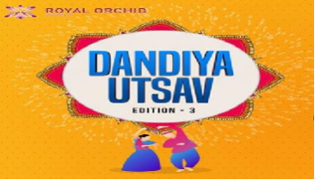 Dandiya UTSAV at Royal Orchid Lawn Area Old Airport Road