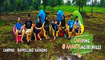 Night Camping at Anantagiri Hills