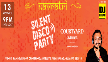 SILENT DISCO PARTY by DJ NIHAR