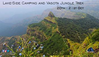 Vasota Jungle Fort Lakeside camping Trekking