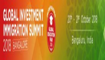 GLOBAL INVESTMENT IMMIGRATION SUMMIT 2018 Bengalore
