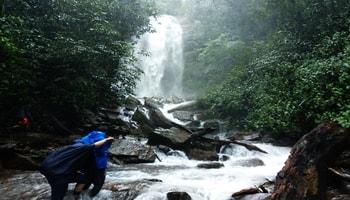 kodachadri trek, hidlumane waterfall and fort visit