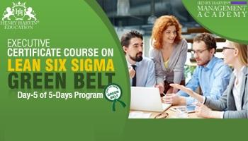 Executive Certificate Course on Lean Six Sigma Green Belt