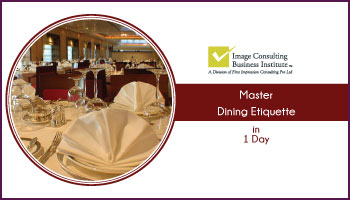 ICBI Dining Etiquette Workshop (3-Nov, Ahmedabad)