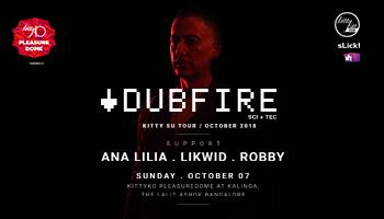 DUBFIRE INDIAN TOUR 2018 at Bengaluru